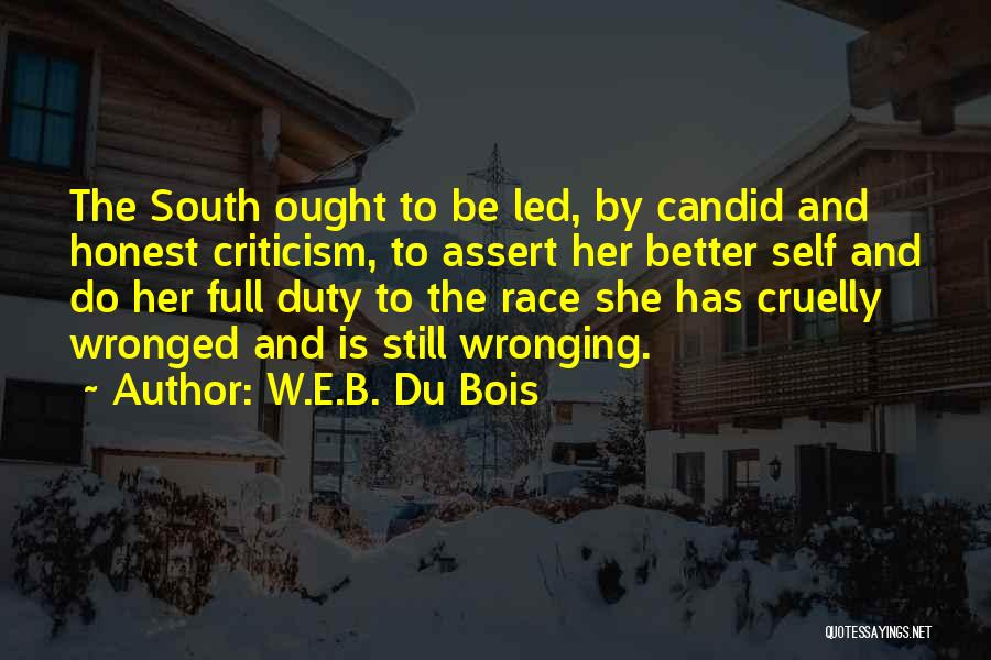 Candid Quotes By W.E.B. Du Bois