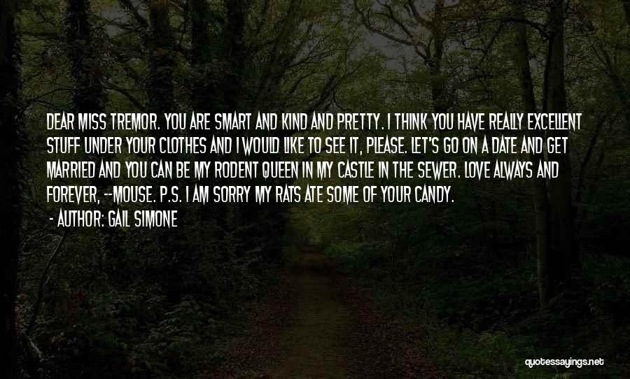 Candy And Love Quotes By Gail Simone