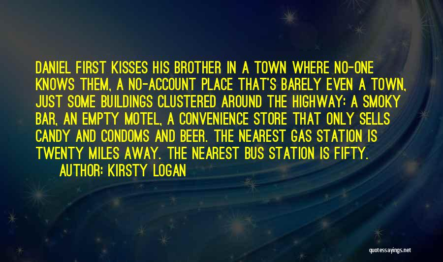 Candy And Love Quotes By Kirsty Logan
