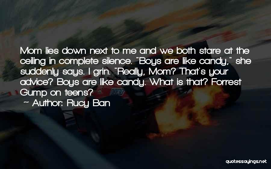 Candy And Love Quotes By Rucy Ban