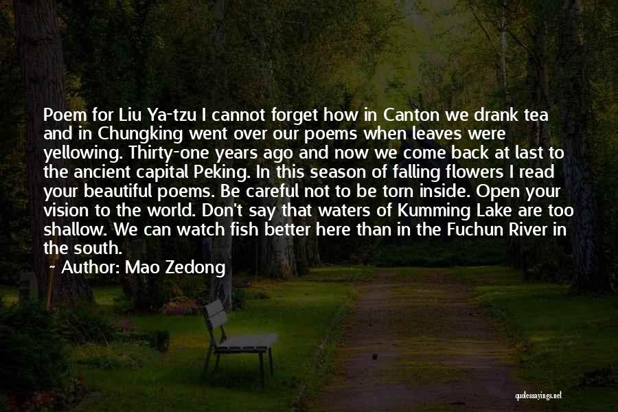 Cannot Forget Quotes By Mao Zedong