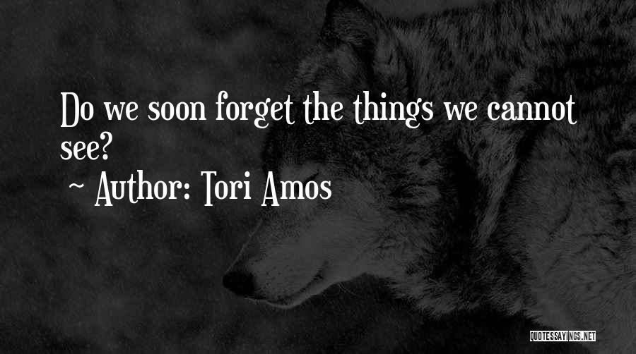 Cannot Forget Quotes By Tori Amos