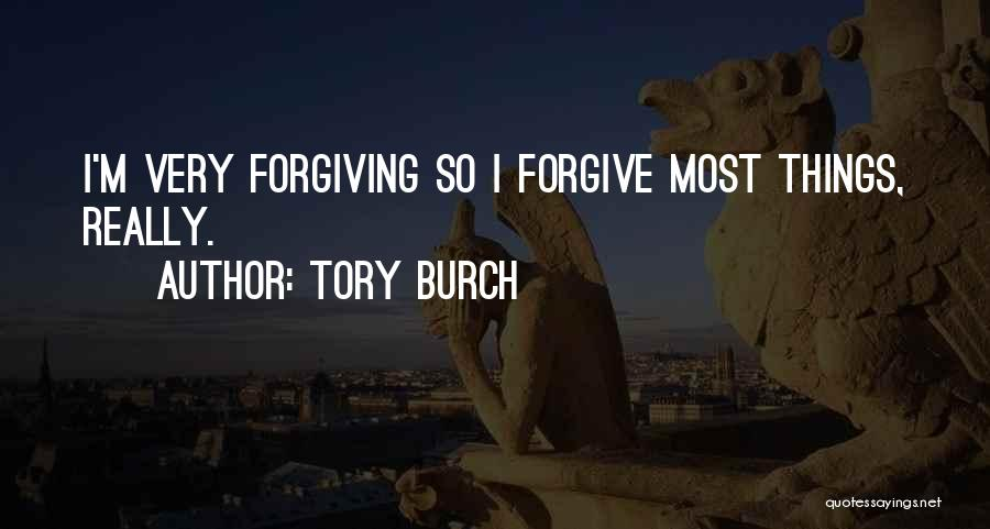 Cannot Forgive Myself Quotes By Tory Burch