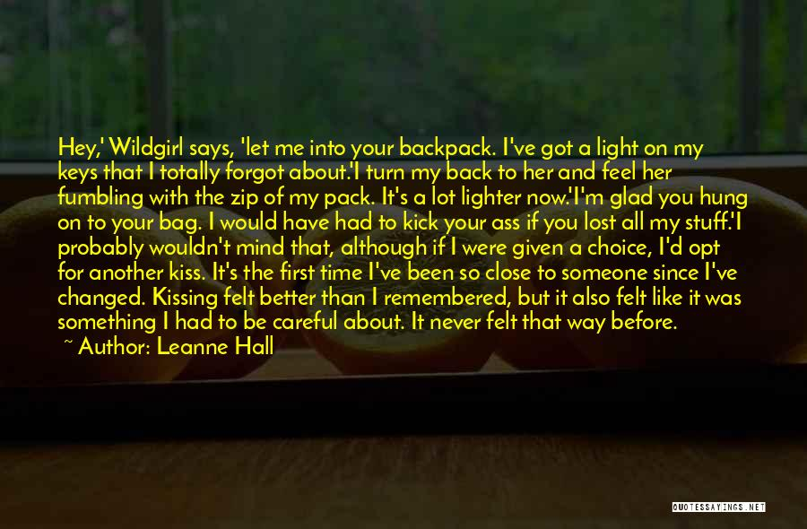 Cannot Turn Back Time Quotes By Leanne Hall