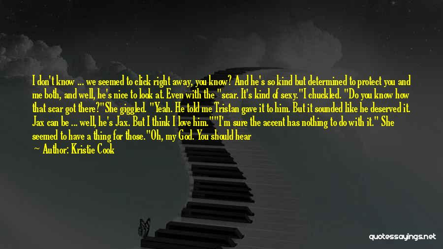 Can't Change Him Quotes By Kristie Cook