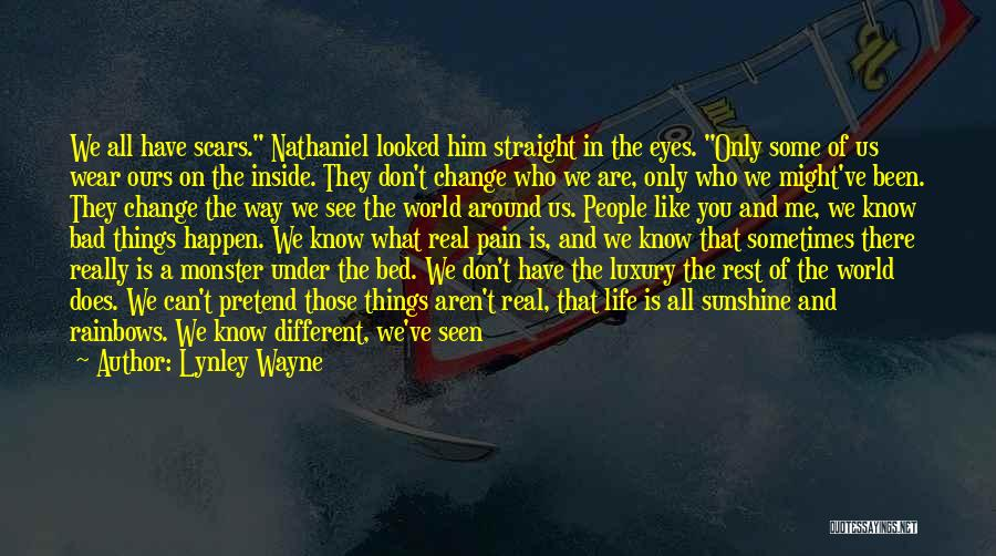 Can't Change Him Quotes By Lynley Wayne