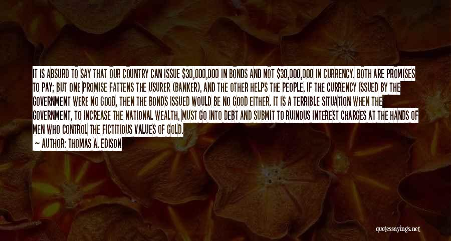 Can't Control The Situation Quotes By Thomas A. Edison