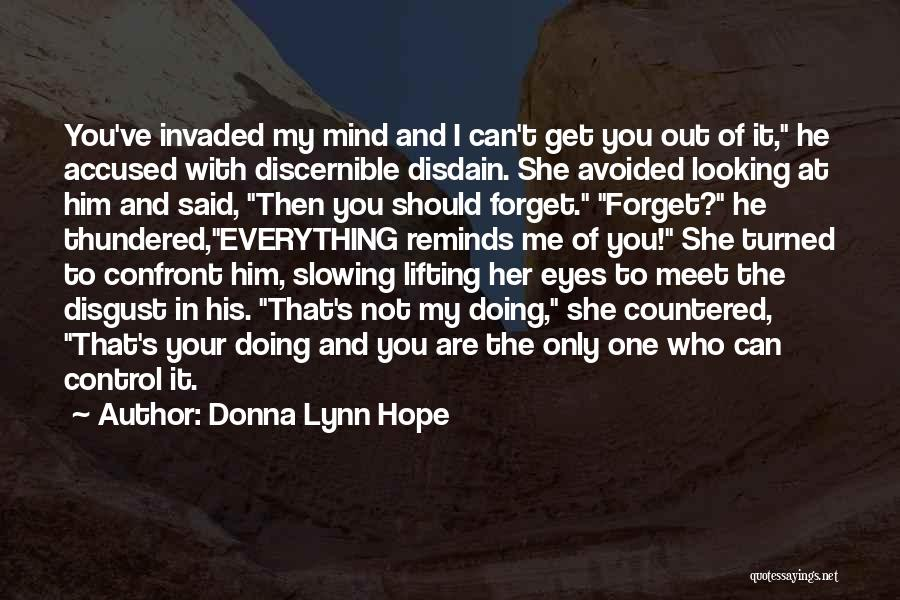 Can't Forget Him Quotes By Donna Lynn Hope