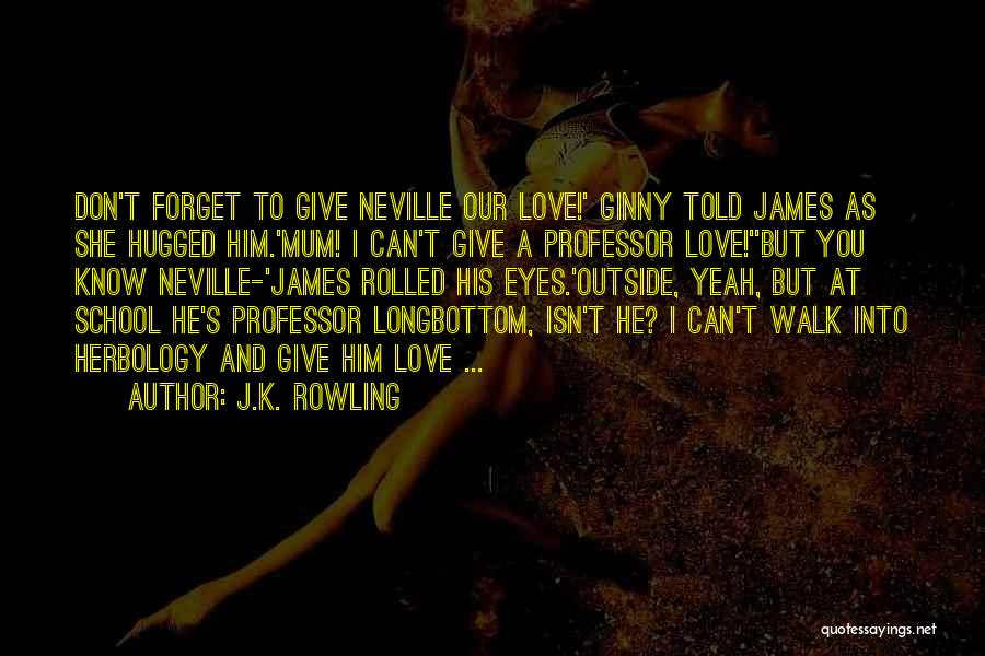 Can't Forget Him Quotes By J.K. Rowling