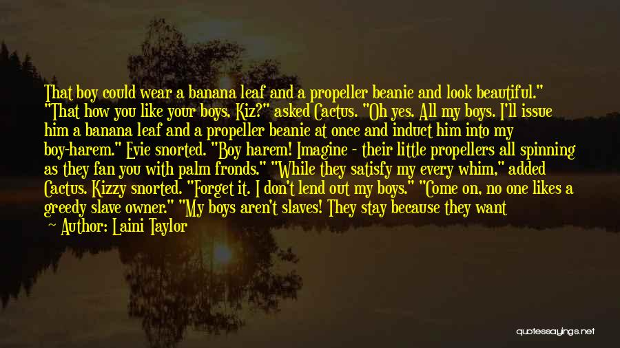 Can't Forget Him Quotes By Laini Taylor