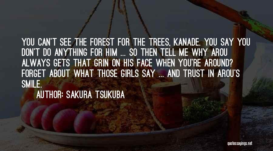 Can't Forget Him Quotes By Sakura Tsukuba