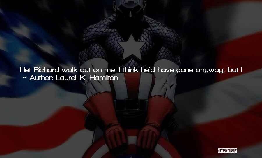 Can't Have Someone You Want Quotes By Laurell K. Hamilton