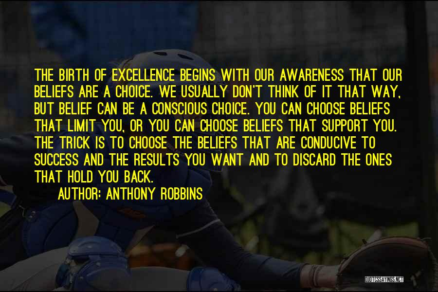 Can't Hold You Back Quotes By Anthony Robbins