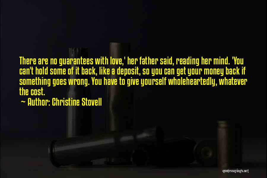 Can't Hold You Back Quotes By Christine Stovell