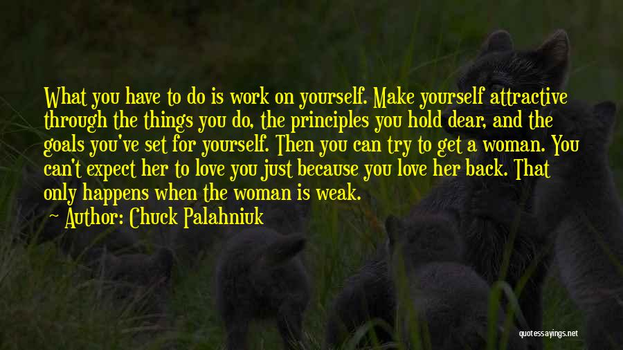 Can't Hold You Back Quotes By Chuck Palahniuk
