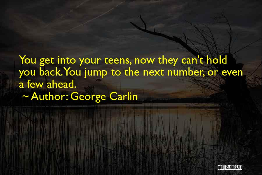 Can't Hold You Back Quotes By George Carlin
