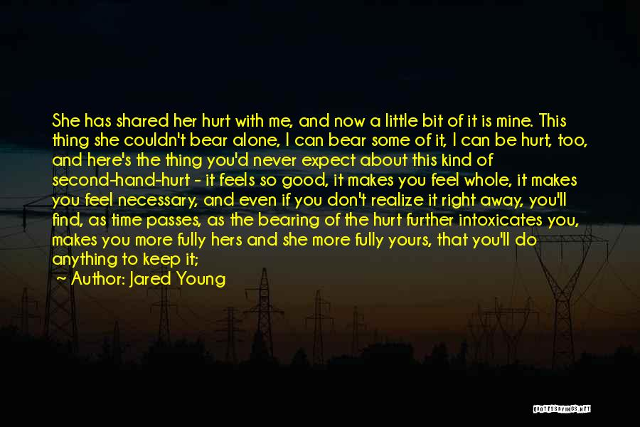 Can't Hold You Back Quotes By Jared Young