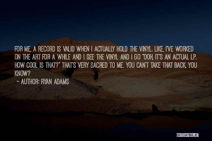 Can't Hold You Back Quotes By Ryan Adams