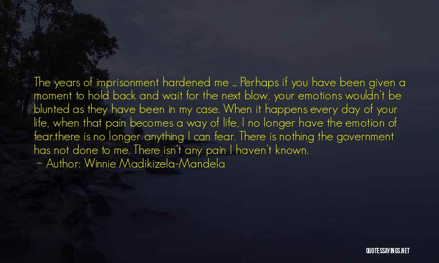 Can't Hold You Back Quotes By Winnie Madikizela-Mandela