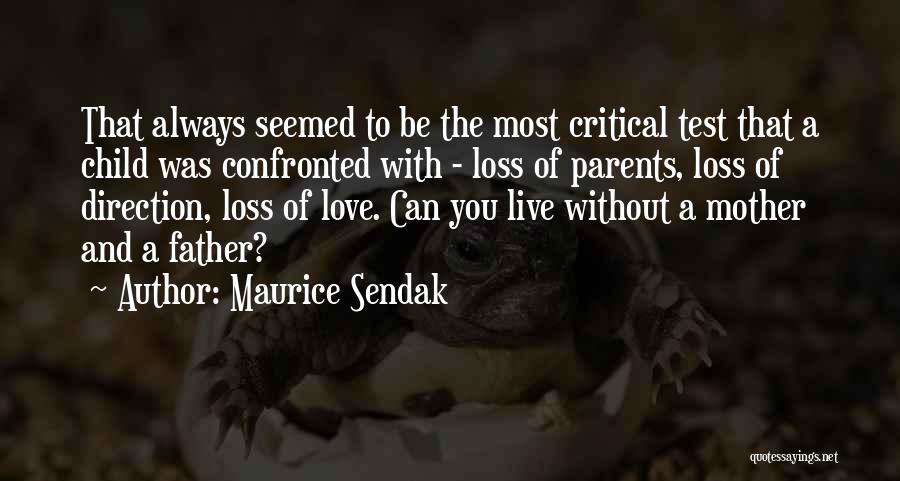 Can't Live Without Mother Quotes By Maurice Sendak