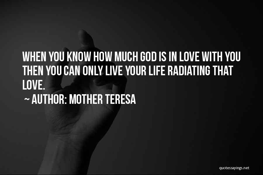 Can't Live Without Mother Quotes By Mother Teresa