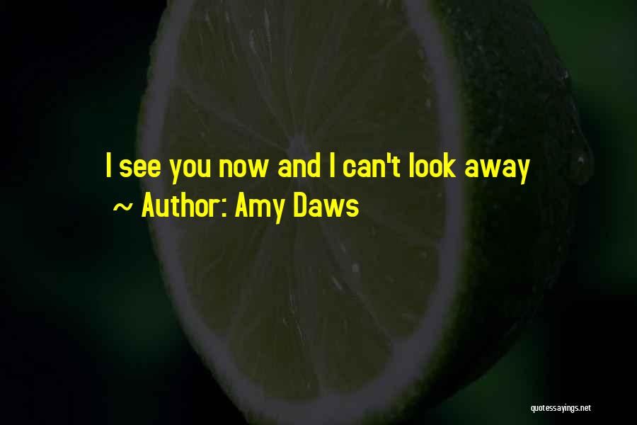 Can't Look Away Quotes By Amy Daws