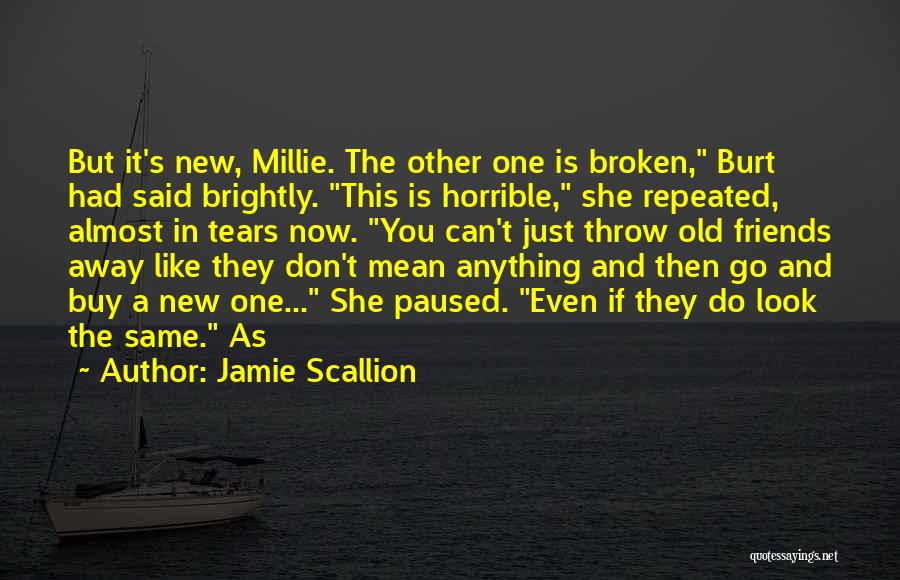 Can't Look Away Quotes By Jamie Scallion