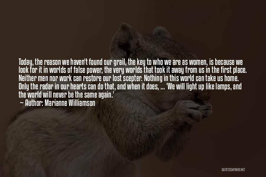 Can't Look Away Quotes By Marianne Williamson