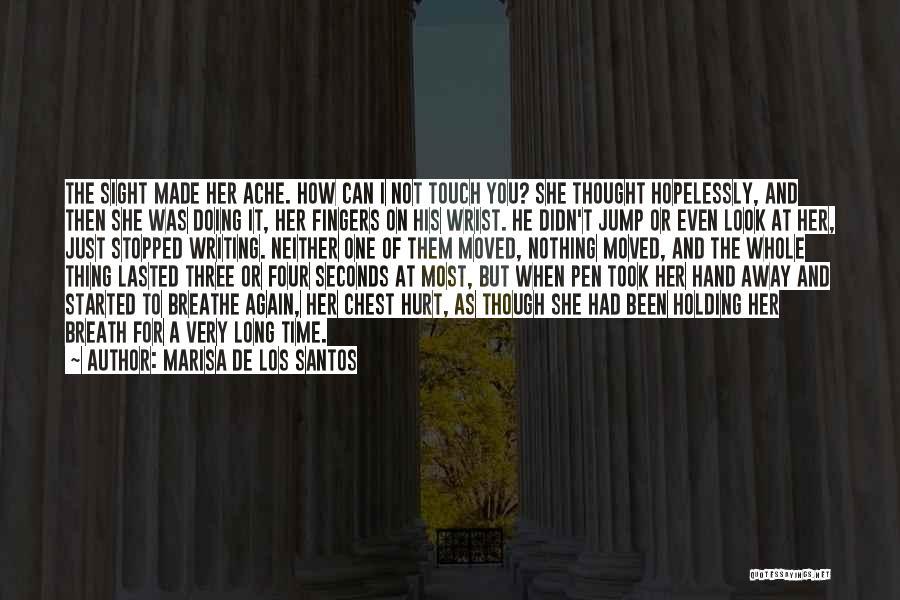 Can't Look Away Quotes By Marisa De Los Santos