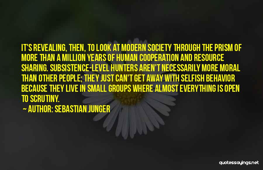 Can't Look Away Quotes By Sebastian Junger