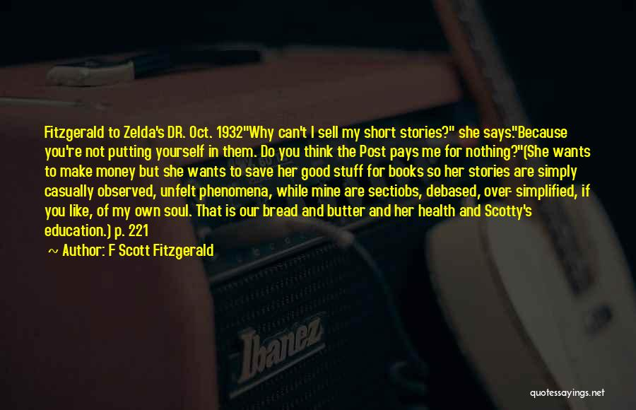 Can't Save Money Quotes By F Scott Fitzgerald