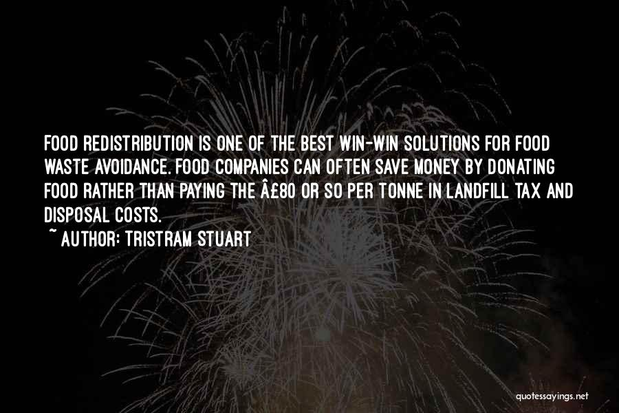 Can't Save Money Quotes By Tristram Stuart