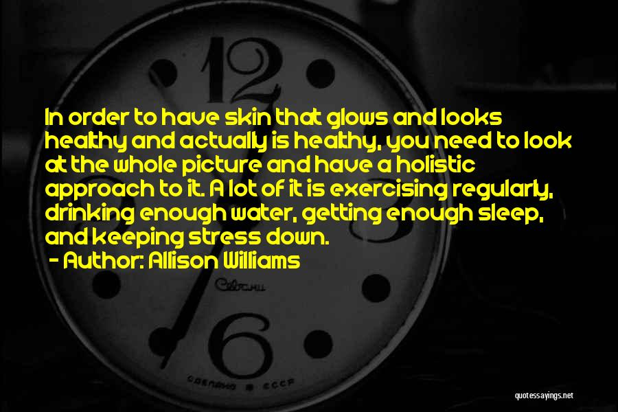 Can't Sleep Picture Quotes By Allison Williams