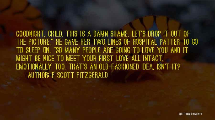 Can't Sleep Picture Quotes By F Scott Fitzgerald