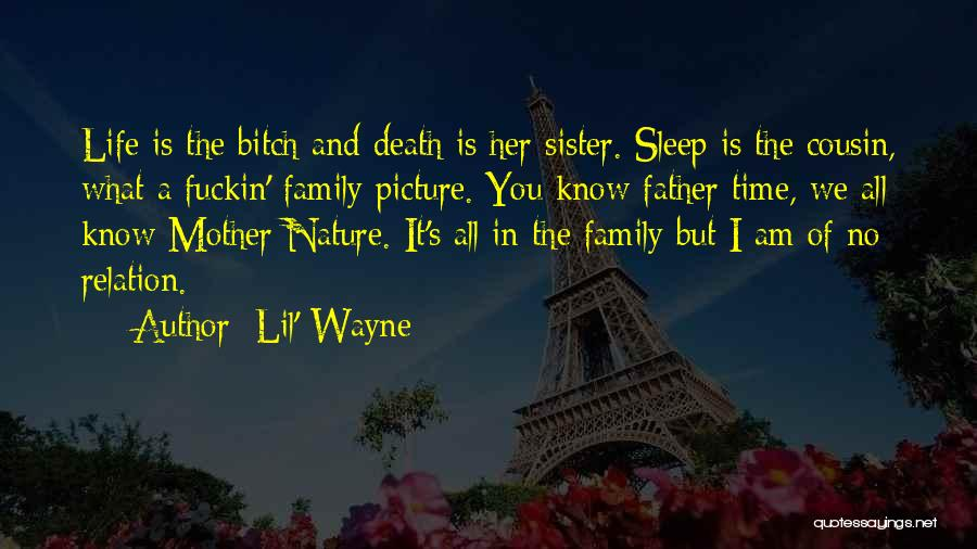 Can't Sleep Picture Quotes By Lil' Wayne