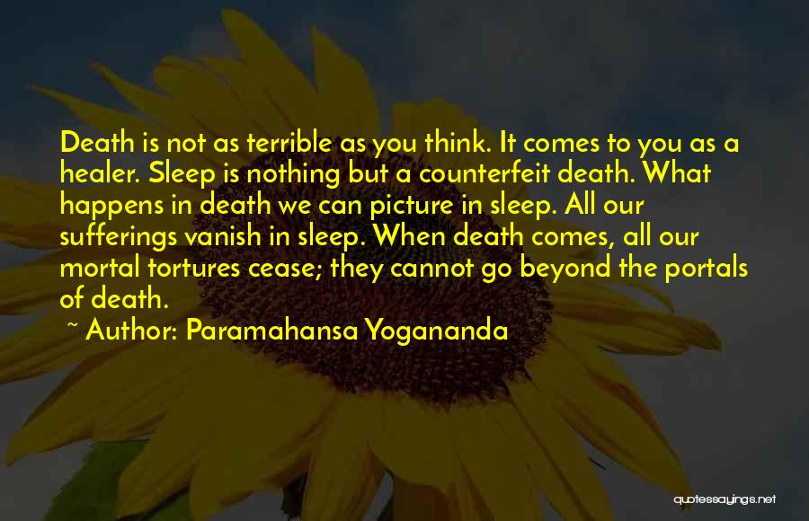 Can't Sleep Picture Quotes By Paramahansa Yogananda