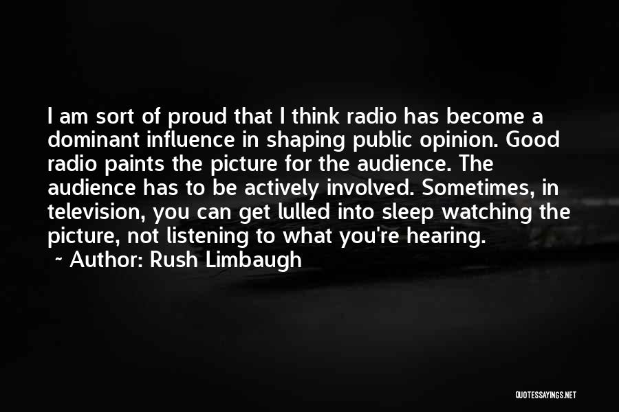Can't Sleep Picture Quotes By Rush Limbaugh