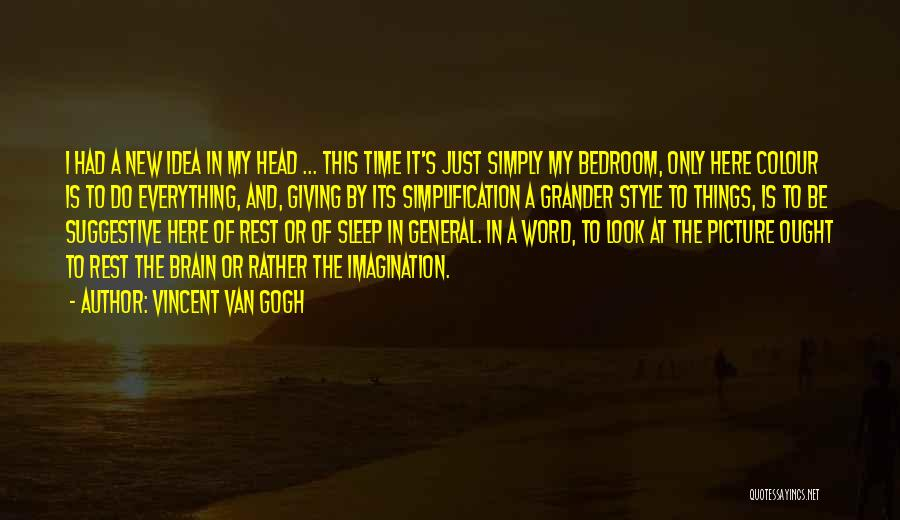 Can't Sleep Picture Quotes By Vincent Van Gogh