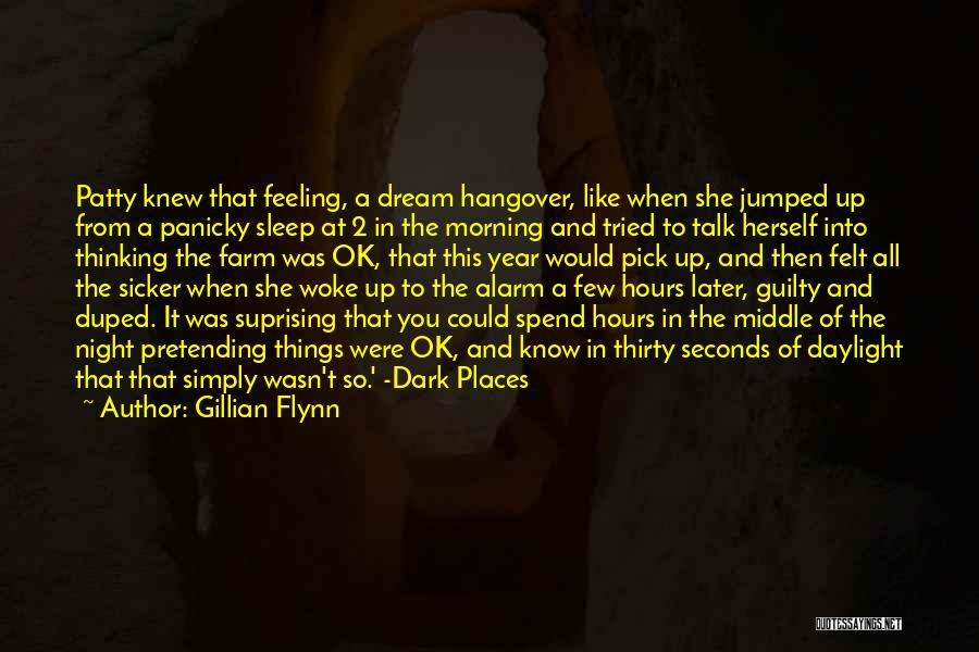 Can't Sleep Thinking Of Her Quotes By Gillian Flynn