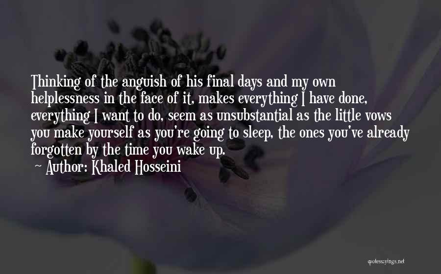 Can't Sleep Thinking Of Her Quotes By Khaled Hosseini
