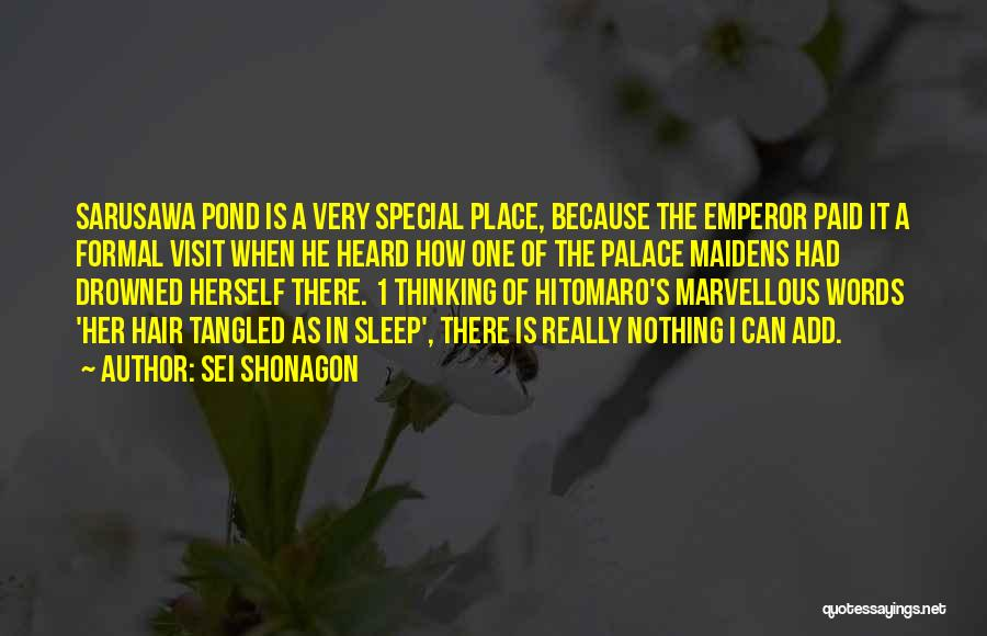 Can't Sleep Thinking Of Her Quotes By Sei Shonagon