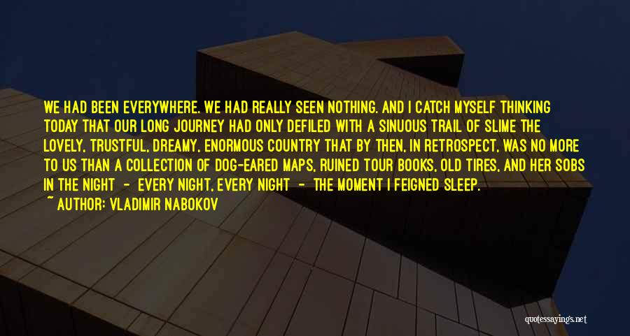 Can't Sleep Thinking Of Her Quotes By Vladimir Nabokov
