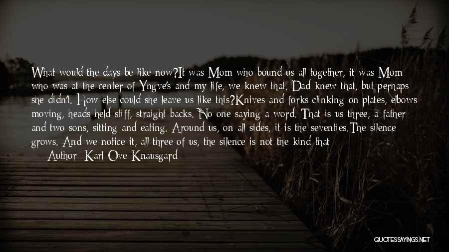 Can't Stop Eating Quotes By Karl Ove Knausgard