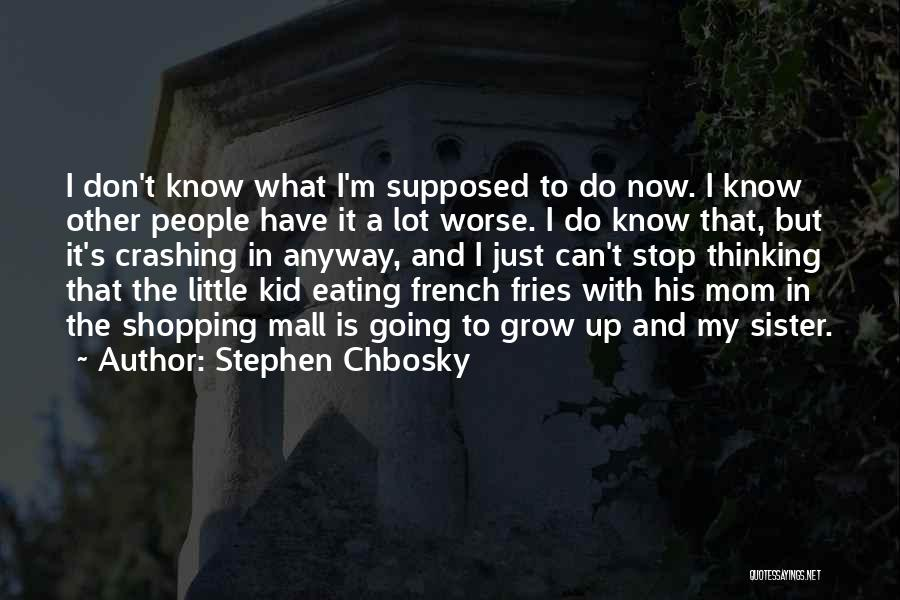 Can't Stop Eating Quotes By Stephen Chbosky