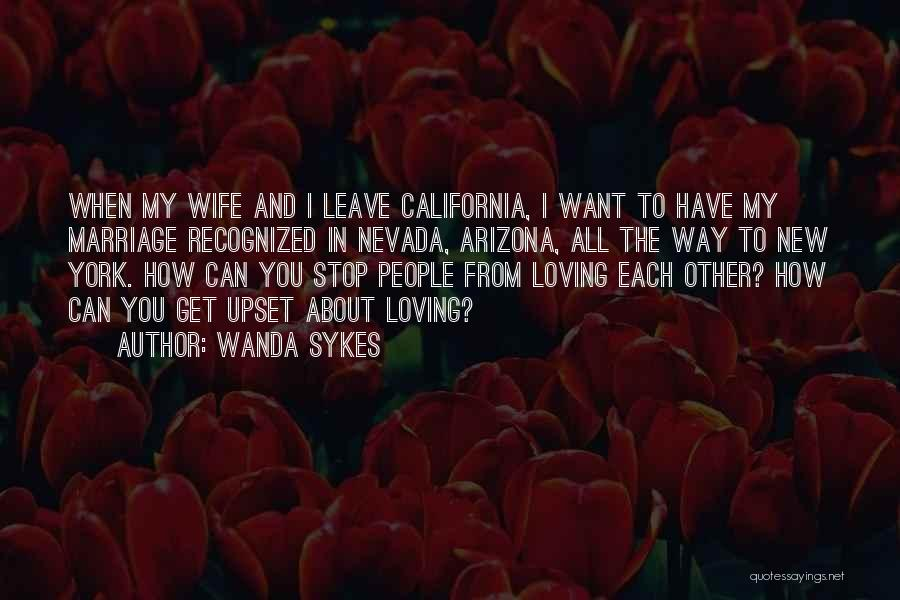 Can't Stop Loving Quotes By Wanda Sykes