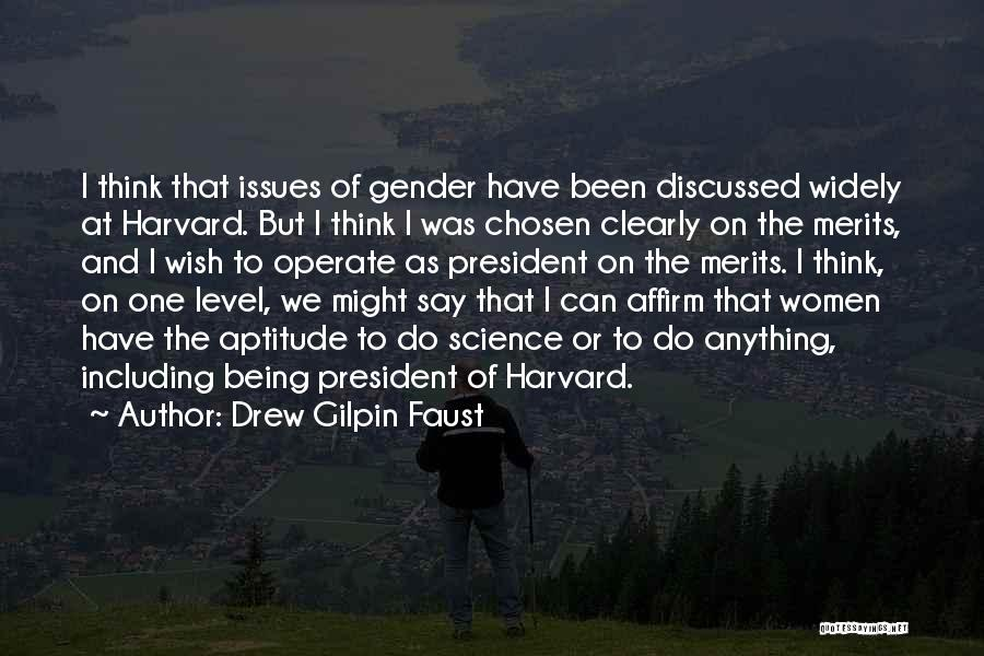 Can't Think Clearly Quotes By Drew Gilpin Faust
