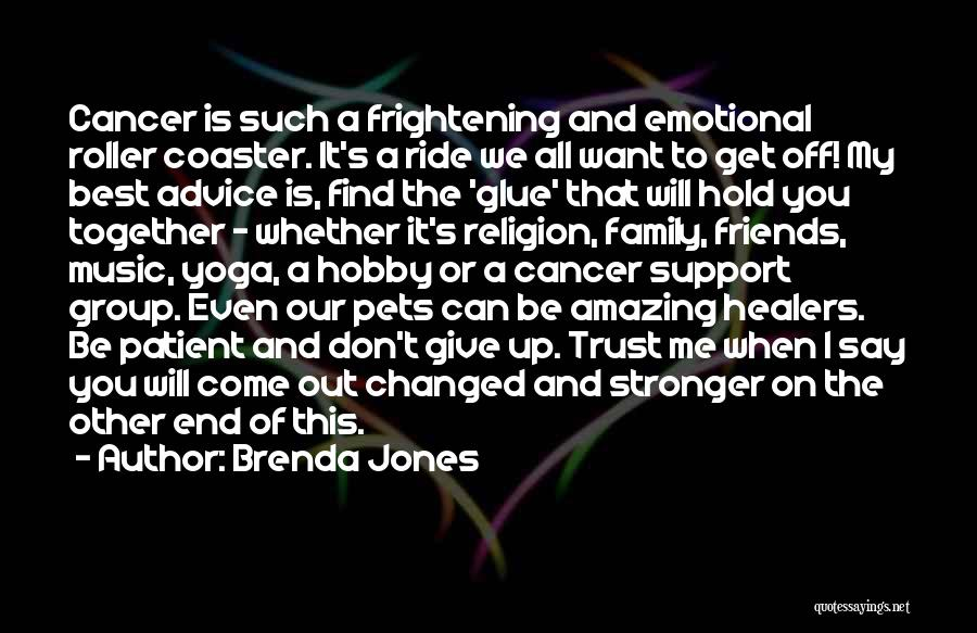 Can't Trust Family Quotes By Brenda Jones