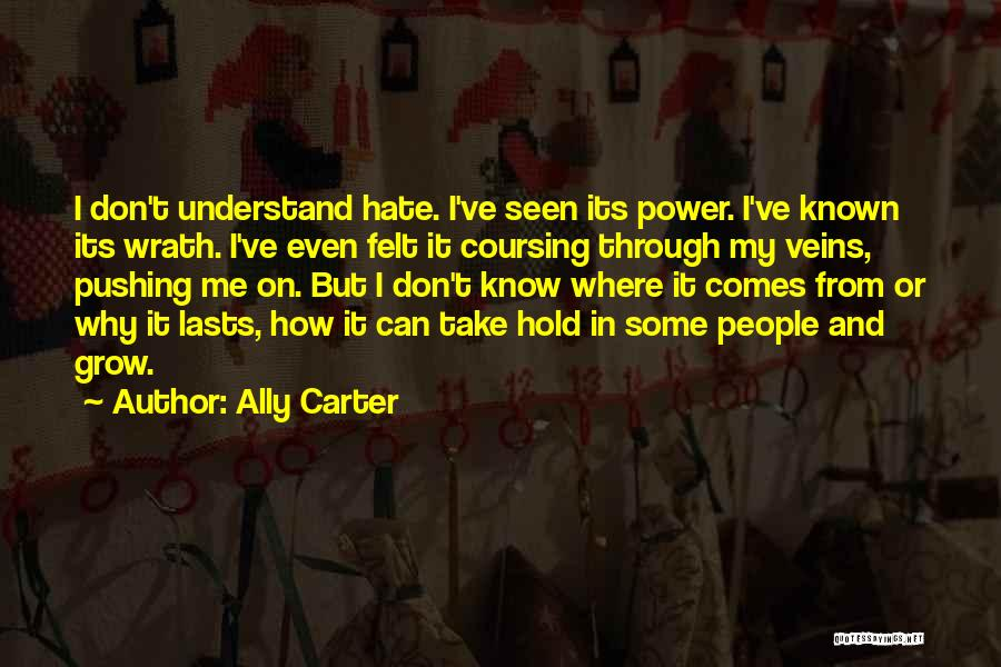 Can't Understand Me Quotes By Ally Carter