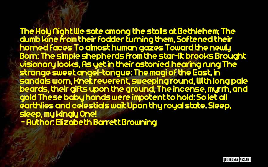 Can't Wait To Have My Baby Quotes By Elizabeth Barrett Browning