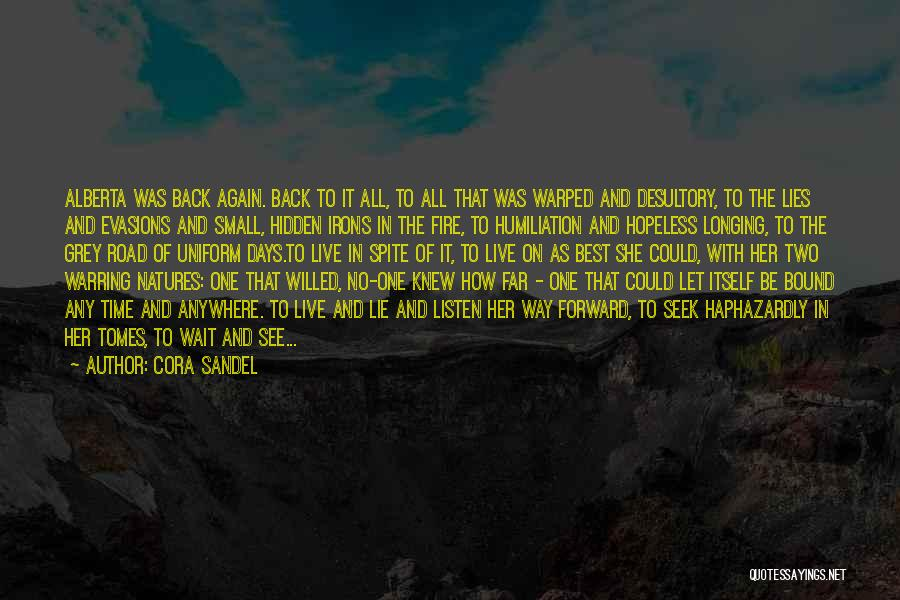 Can't Wait To See You Again Quotes By Cora Sandel
